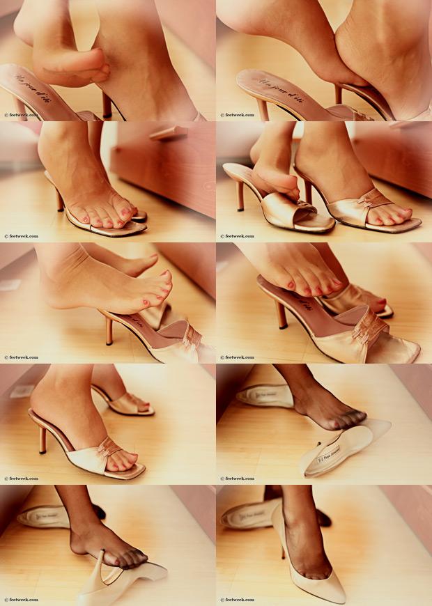 Nylon Clad Feet